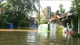 Monsoon rains cause heavy flooding in Sri Lanka
