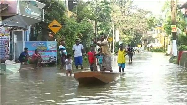 Наводнения на Шри-Ланке