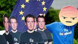 Mark Zuckerber declara ante la Eurocámara