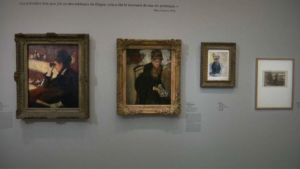 ABD'li ünlü empresyonist ressam Mary Cassatt'in eserleri  Paris'te ziyaretçilerini bekliyor