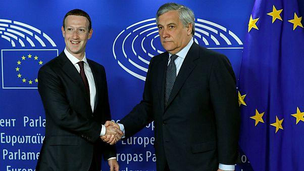 Mark Zuckerberg s'excuse devant le Parlement européen