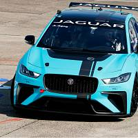 Jaguar's all-electric race car prototype presented in Berlin