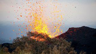 Lakott területet fenyeget a vulkán Hawaii-on