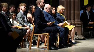 Prince William attends Manchester Arena National Service of Commemoration
