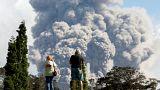 Perigo de poluição atmosférica por causa do Kilauea