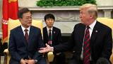 Trump says there's a change summit with North Korea's leader won't happen