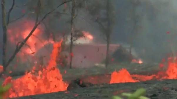 El imparable río de lava del volcán Kilauea
