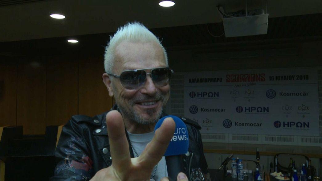 Scorpions dará un concierto especial en Atenas en julio