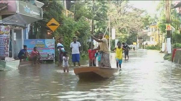 Sri Lanka : les inondations font des victimes