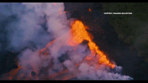 Hawaii, il vulcano Kilauea fa ancora paura