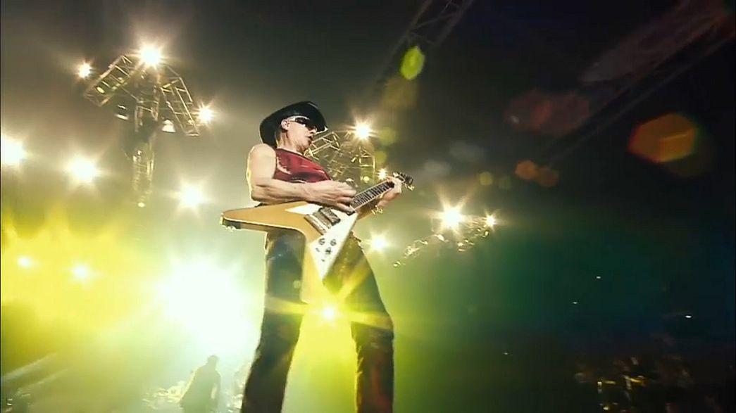 """Le groupe mythique """"Scorpions"""" en tournée en Europe"""