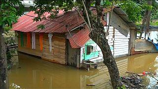 وفاة ثمانية أشخاص على الأقل في سريلانكا جراء الأمطار الموسمية