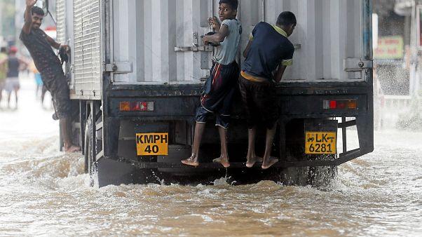 8 Menschen sterben bei heftigen Unwettern in Sri Lanka