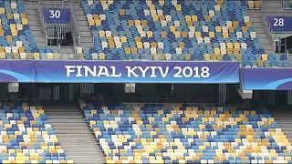 الملعب الاولمبي في كييف الذي سيشهد المباراة النهائية لدوري أبطال أوروبا