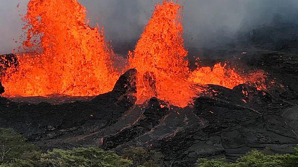 Kilauea-Vulkan bedroht Stromversorgung