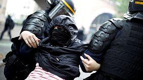 Παρίσι: Σοβαρά επεισόδια με αιχμή τις μεταρρυθμίσεις Μακρόν για το δημόσιο