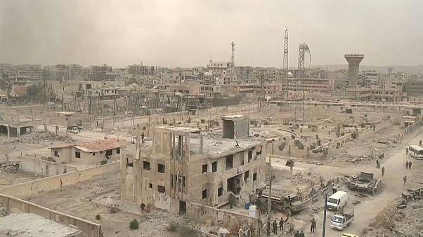 Siria: l'Esercito riconquista Damasco (per intero)