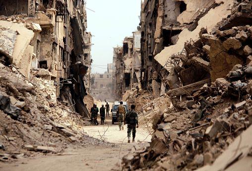 Damas sous contrôle entier du régime syrien