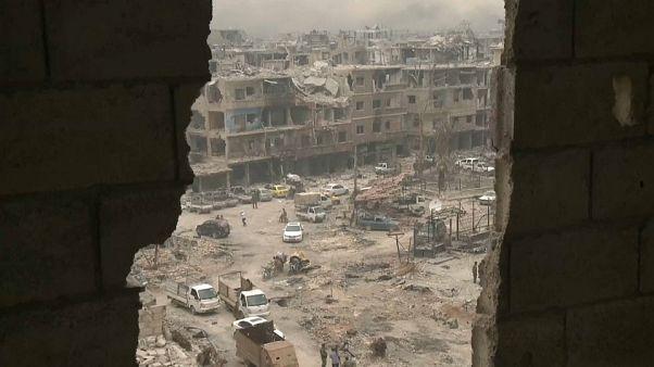 Alivio en Damasco tras derrotar el Ejército al Dáesh