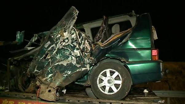 Fahrer filmte live auf Facebook: 9 Tote