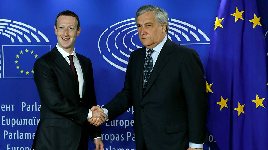 Zuckerberg Avrupa Parlamentosu'nda ifade verdi