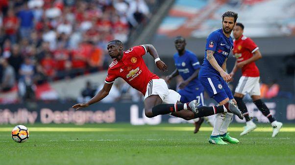 Paul Pogba az FA-kupa döntőjében május 19-én