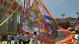 Hong Kong's Cheung Chau Bun festival