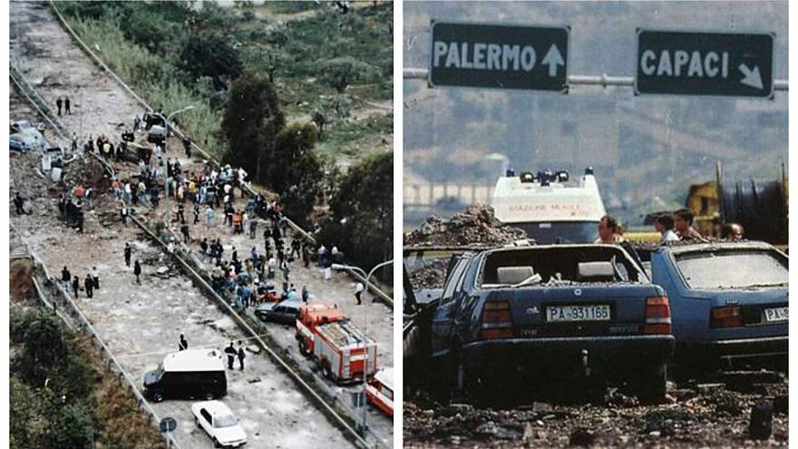 Attentato Falcone: da Roma agli Stati Uniti passando per il cratere di Capaci