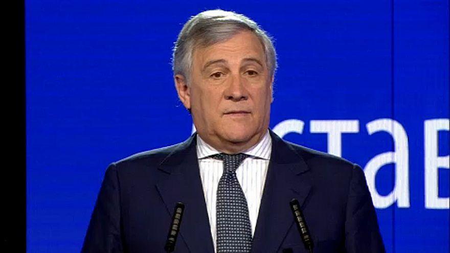 Antonio Tajani le président du Parlement européen