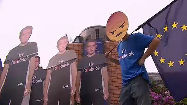 Verärgerung in Brüssel über Zuckerberg-Auftritt