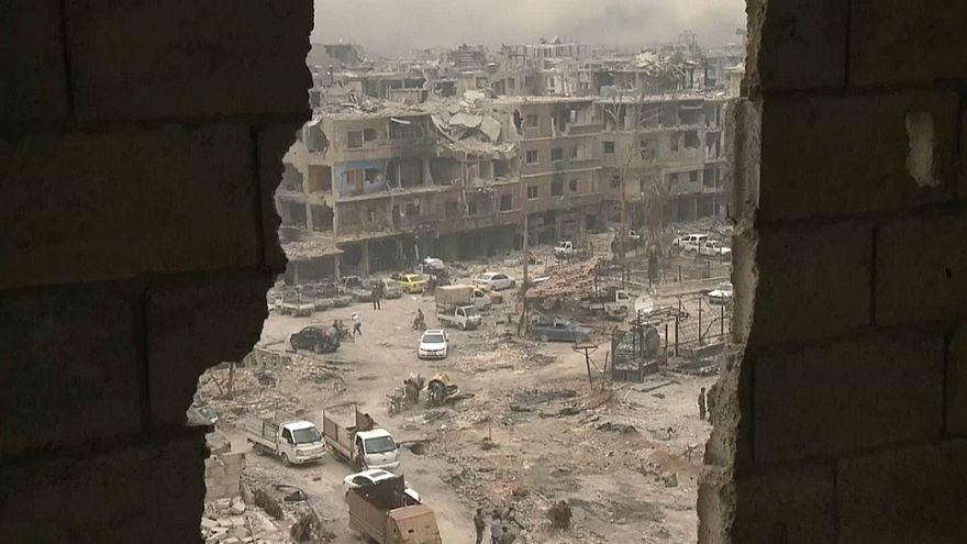 Пригороды Дамаска освобождены