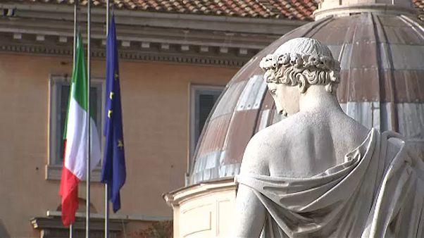 Az olasz adósságra figyelmeztet Brüsszel