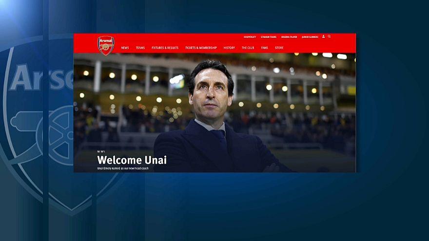 Arsenal'in yeni hocası Unai Emery