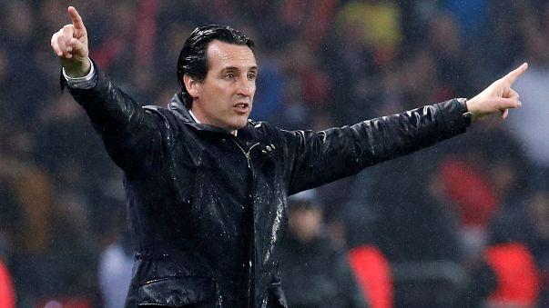 Arsenal's new manager Unai Emery