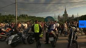 Moscow university students protest World Cup noise