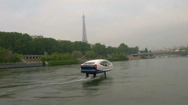 """""""Летающее такси"""" в Париже"""