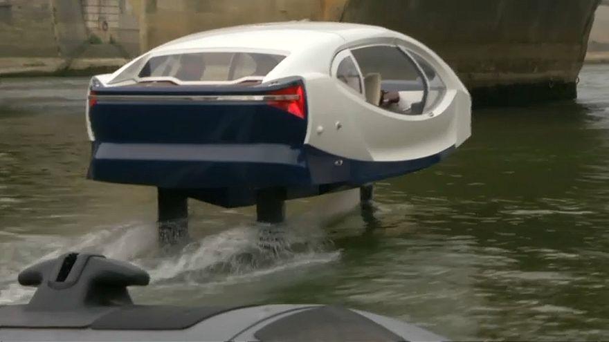 Um táxi para acelerar... nos rios