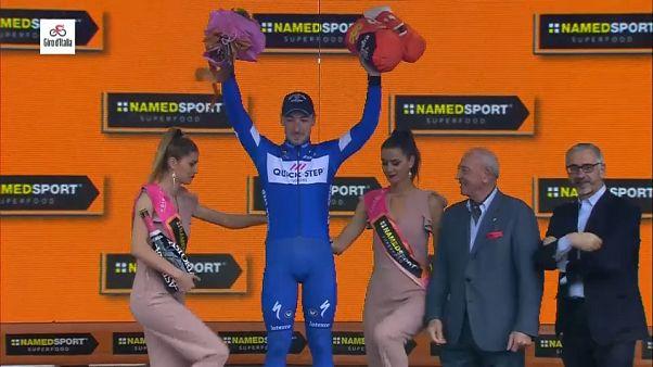 Otra victoria de etapa para Viviani, y ya van cuatro