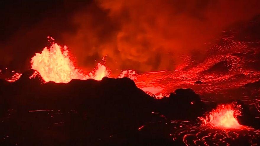 La belleza hipnótica del volcán Kilauea