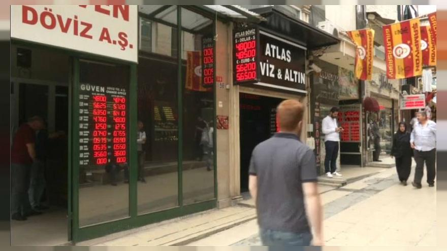 Turchia: la Lira ai minimi storici