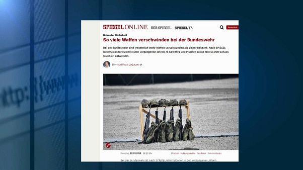 Germania, armi d'assalto sparite da arsenale Difesa: l'ombra della destra?