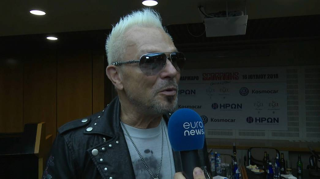 Scorpions preparam concerto histórico em Atenas