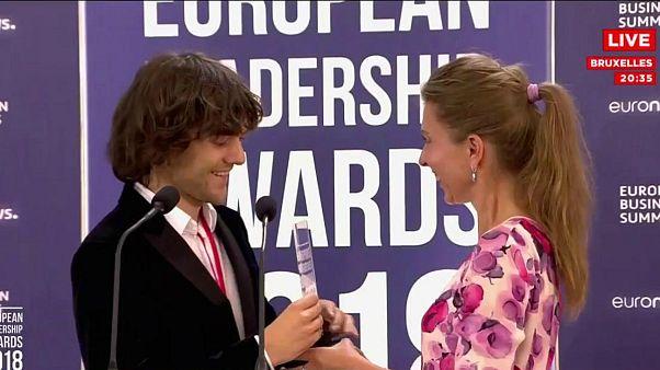 جایزه کارآفرین سال اروپا به بویان اسلت، مبتکر هلندی تعلق گرفت.