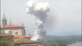 Un muerto y varios heridos tras la explosión de una pirotecnia en Galicia