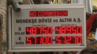 Συνεχίζεται η «βουτιά» για την τουρκική λίρα