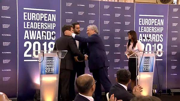 Премия Европейского лидерства: первые лауреаты