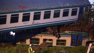 Halálos vonatbaleset Olaszországban