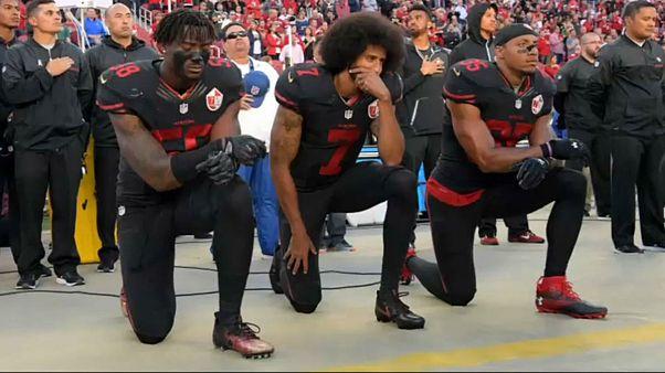لیگ ملی فوتبال آمریکایی اعتراض بازیکنان هنگام پخش سرود ملی را ممنوع کرد