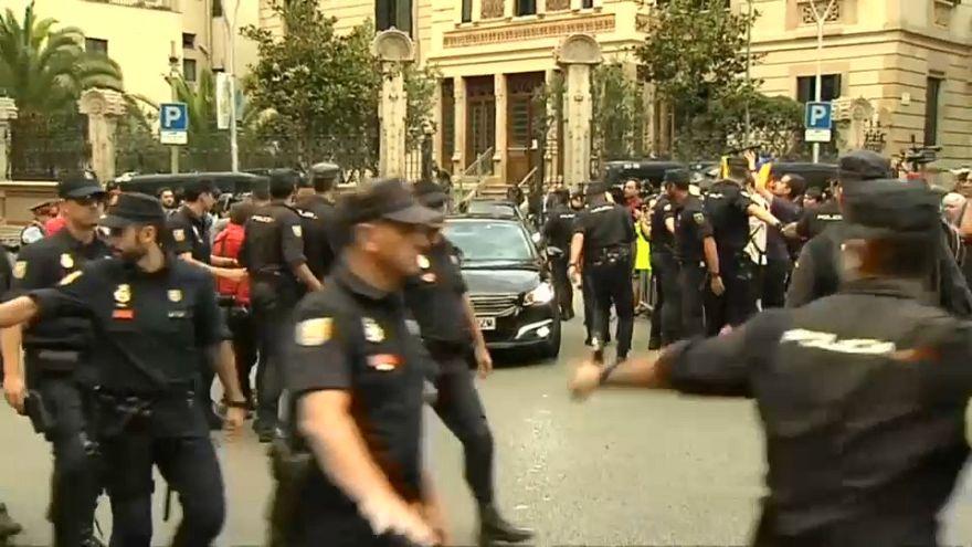 29 detenidos por el presunto desvío de fondos para el 'procés' en Cataluña