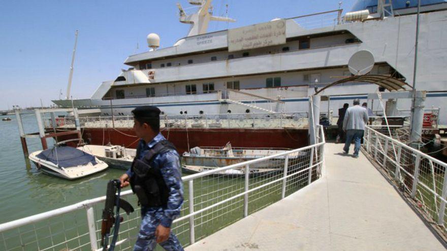 يخت صدام حسين يتحول إلى فندق للمرشدين البحريين في البصرة